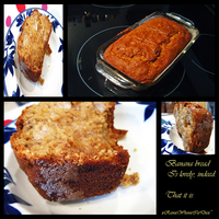 My First Banana Bread by xRainxWhenxIxDiex