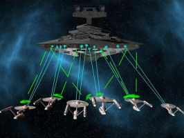 Federation VS Empire FIRE by madmick2299