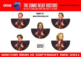 Doctor Who - Comic Relief by mikedaws