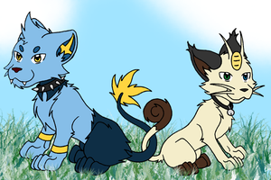 UF Pets: Circuit and Karma by Inkbound