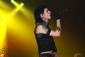 Andy Biersack #8 by RavenReckless