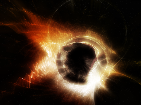 Fractal05: Black Hole Sun (revision 2) by tei187