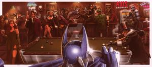 Batman Walks Into A Bar... by Bate-man26