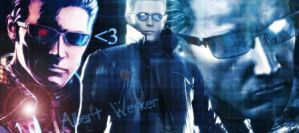 Albert Wesker Signature by AlbertXExcellaLover
