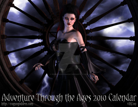 Calendar 2010 - Cover by Roguegoddess69247