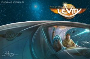 Mission Levity - Book Cover by Draco-Stellaris