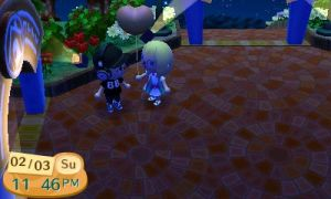Me and My Boyfriend In ACNL by Necrophilliacness