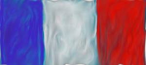 Le french flag.~ by Chirachina