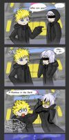 KH - Riku and Roxas - Rainbow in the dark :D by AlviaAlcedo
