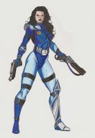 Space Cop by JosephB222