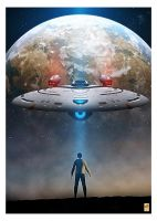 Star Trek Enterprise-G poster by thefirstfleet