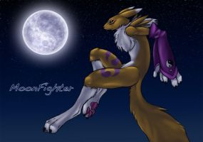 ..::MoonFighter::..Renamon by DaRkRaVeNsTeAr