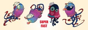 superfast by grinningspider