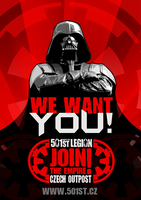 Darth Vader - Join the Empire by DromCZ
