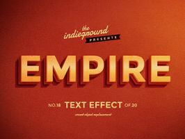 Retro Vintage Text Effect No.18 by IndieGround