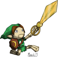 Puppet of Zelda - Scissors of Time by Memoski