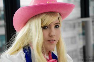 Macross Frontier - Sheryl Nome [Cowgirl] by pure-faces