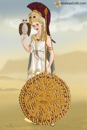Athena, Goddess of Wisdom and War
