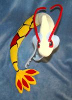 Shiny Milotic Plush 2 by Shadottie