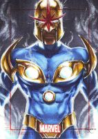Marvel 70th, Nova AP by Dangerous-Beauty778