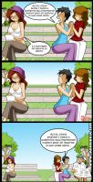 Living with Hipstergirl and Gamergirl by JagoDibuja