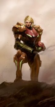 Samus Portrait by poojipoo