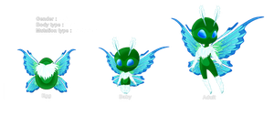 Hatched Butterfae ::1:: by JessyB-Design