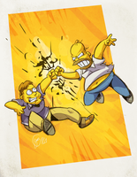 showtime :feat. Homer: by edtropolis