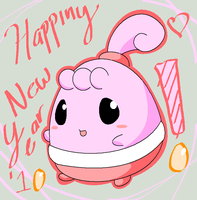 HAPPINY NEW YEAR '10 by Buneary