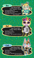Animal Crossing New Leaf Villager Selfies by Ai-Bee