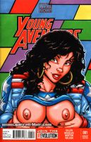 Miss America Chavez naughty sketch cover by gb2k