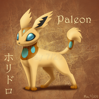 Paleon :Fan Pokemon: by BlazeTBW