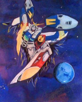 gundam wing by PsychoKidz