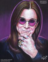 Ozzy Osbourne by The-Art-of-Ravenwolf