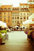 Warsaw market square by mkev