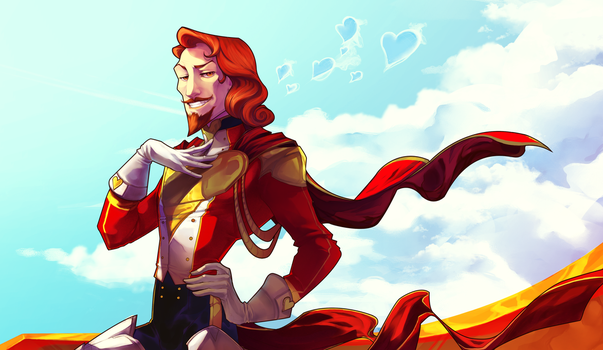 Captain Lovewood by Astrall-Cooties
