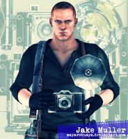 The Photographer - Jake Muller by MayaRokuaya