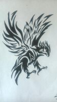 Another old drawing(eagle) by frostlightqqq