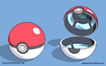 Poke Ball - Toon by seancantrell