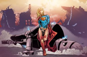 Supergirl COLORS by akmeto