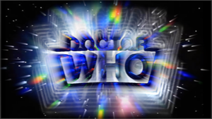 Doctor Who 50th Anniversary Logos: Sixth Doctor by BlackLanternDaddy