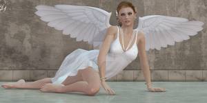 A Beautiful Angel by CaperGirl42