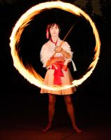 A burning ring of fire by Arachnoid