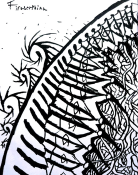Marker doodle 7 (Abstract) by Tiraserphina
