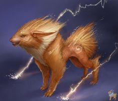 Jolteon by SoupAndButter