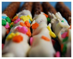 Chocolate Covered Pretzels II by cb-smizzle