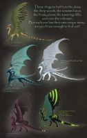 First Discovery Dragon Adoptables - ALL TAKEN by Kamakru