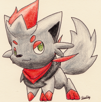 Zorua -CO- by Yakalentos
