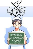 No compulsion in Religion -1 by Nayzak