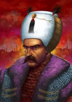 Portrait Of Sultan by MuratCALIS